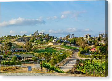 Temecula Valley Canvas Print by April Reppucci