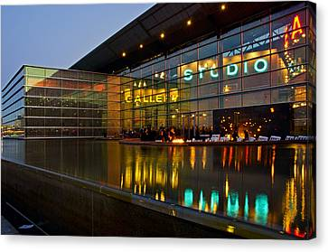 Tempe Center For The Arts Canvas Print by Dave Dilli