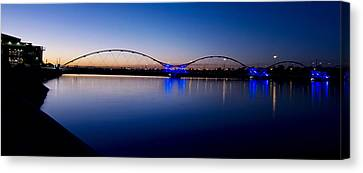 Tempe Town Lake Canvas Print by Kelly Gibson