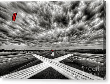 Tempelhof Airport Berlin Canvas Print by Colin Woods