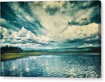 Tempest Canvas Print by Priska Wettstein