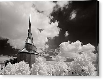 Temple Canvas Print by Bud Simpson