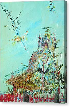 Temple Canvas Print by Fabrizio Cassetta