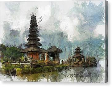 Temple Canvas Print by Georgi Dimitrov