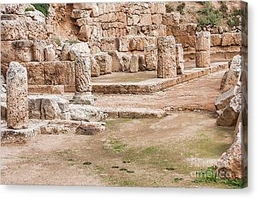 Temple Of Hera Canvas Print