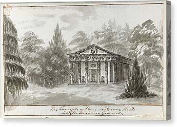 Temple Of Pan Canvas Print by British Library