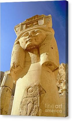 Temple Of Queen Hatshepsut Canvas Print