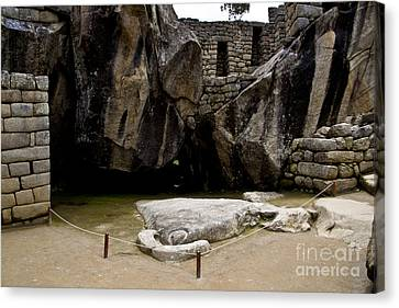 Temple Of The Condor Canvas Print by Kathy McClure