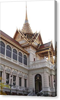 Emerald Canvas Print - Temple Of The Emerald Buddha - Grand Palace In Bangkok Thailand - 011314 by DC Photographer
