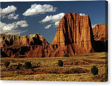 Temple Of The Moon, Jacob's Wall Canvas Print by Michel Hersen