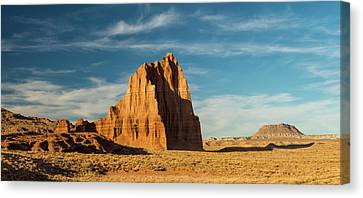 Temple Of The Sun Formation, Cathedral Canvas Print by Panoramic Images