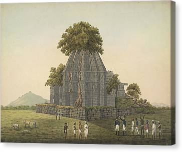 Temple Ruins Canvas Print by British Library