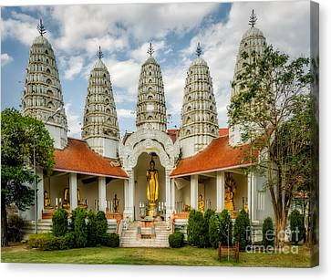 Temple Towers Canvas Print by Adrian Evans