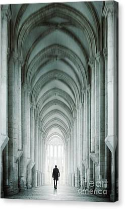 Thriller Canvas Print - Temple Walker by Carlos Caetano