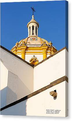 Templo De La Merced Guadalajara Mexico Canvas Print by David Perry Lawrence