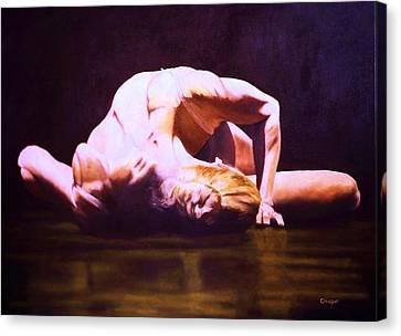 Temps Danse Canvas Print by Jean Yves Crispo