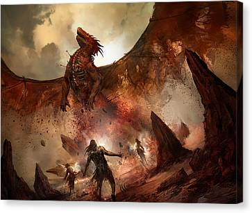 Tempt With Immortality Canvas Print