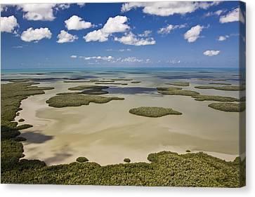 Ten Thousand Islands Canvas Print