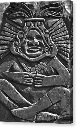 Tenancingo's Malinche Canvas Print by John  Bartosik