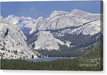 Tenaya Lake Grandeur Canvas Print
