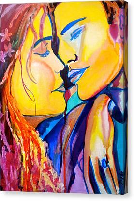 Tender Moment Canvas Print by Debi Starr