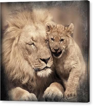 Tenderness Canvas Print