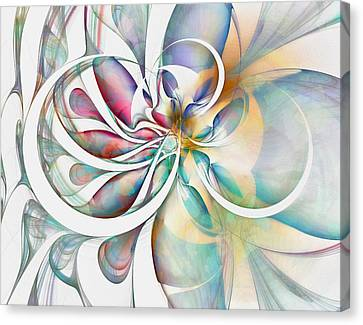 Tendrils Canvas Print - Tendrils 04 by Amanda Moore