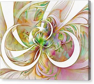 Tendrils Canvas Print - Tendrils 06 by Amanda Moore
