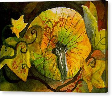 Tendrils Canvas Print by Beverley Harper Tinsley