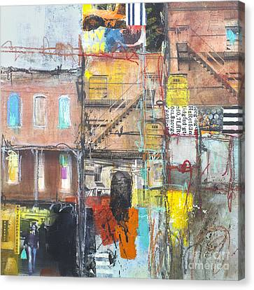 Tenement Dreams Canvas Print by Elena Nosyreva
