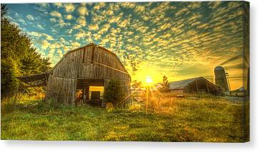 Tennesee Sunrise Canvas Print by  Caleb McGinn