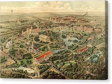 Tennessee Centennial Exposition, Nashville Canvas Print by Litz Collection