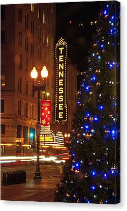 Tennessee Christmas Canvas Print
