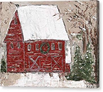 Tennessee Christmas Canvas Print by Kirsten Reed