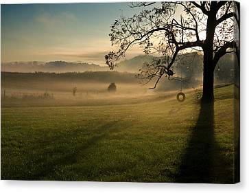 Tennessee Landscape Canvas Print by Melinda Fawver