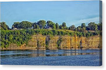 Tennessee River Cliffs Canvas Print by Mountain Dreams