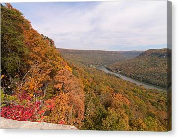 Canvas Print featuring the photograph Tennessee Riverboat Fall by Paul Rebmann