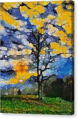 Gatlinburg Tennessee Canvas Print - Tennessee Sunrise by Dan Sproul