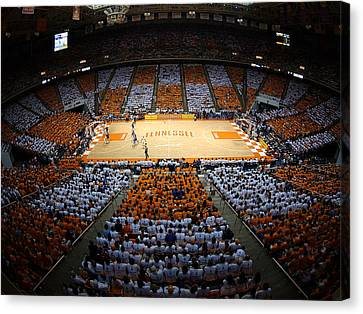 Tennessee Volunteers Thompson-boling Arena Canvas Print by Replay Photos