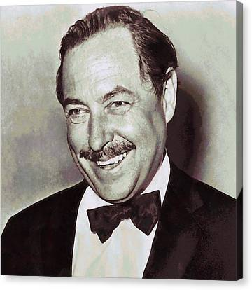 Tennessee Williams Canvas Print