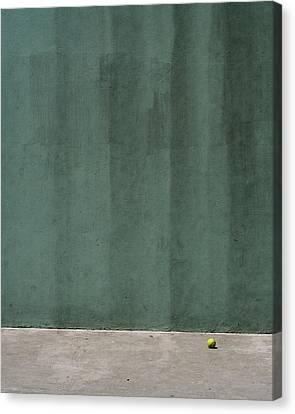 Tennis Ball Canvas Print by Stuart Hicks