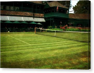 Tennis Hall Of Fame 2.0 Canvas Print by Michelle Calkins