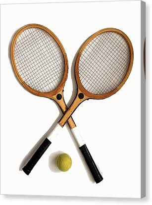 Tennis Sports Canvas Print
