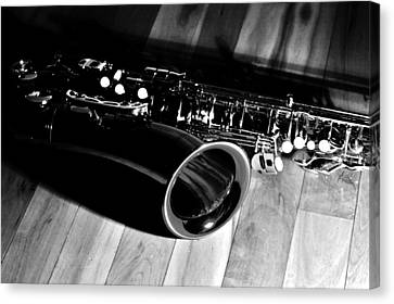 Tenor Sax Canvas Print by Benjamin Yeager