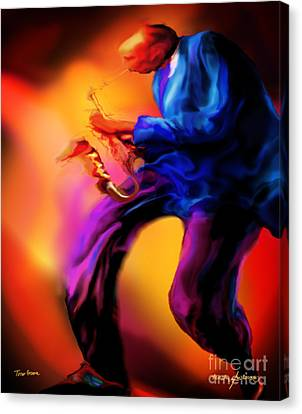 Tenors Groove Canvas Print