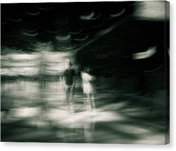 Canvas Print featuring the photograph Tension by Alex Lapidus
