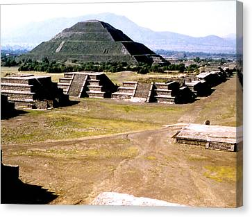 Teotihuacan - Pyramid Of The Sun Canvas Print