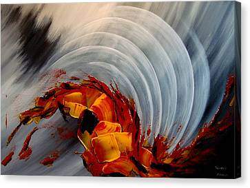 Tequila Sunrise Canvas Print by Thierry Vobmann