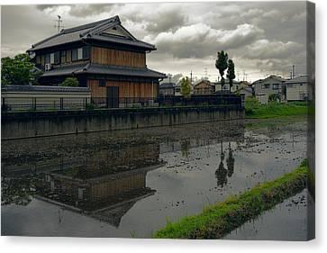 Terada Rice Paddy Estate - Japan Canvas Print by Daniel Hagerman