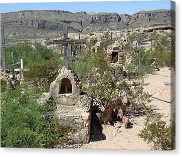 Canvas Print featuring the photograph Terlingua by Linda Cox